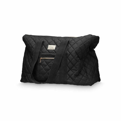 Cam Cam Copenhagen Weekend Bag - Black-Changing Bags- Natural Baby Shower
