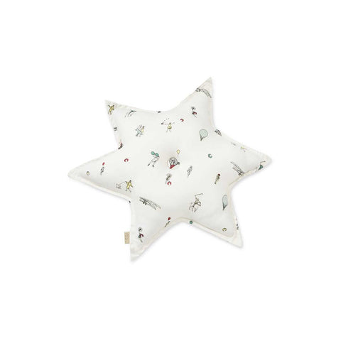 Cam Cam Copenhagen Star Cushion - Holiday-Cushions- Natural Baby Shower