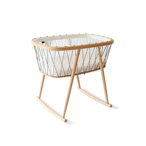 Charlie Crane Kumi Crib - Hazelnut-Cribs-Default- Natural Baby Shower
