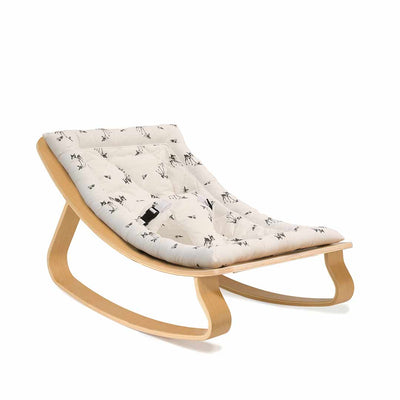 Charlie Crane Levo Baby Rocker - Beech & Rose in April Fawn-Rockers- Natural Baby Shower