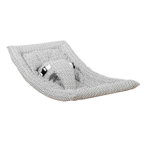 Charlie Crane Levo Rocker Cushion - Diamond B&W