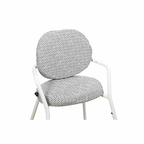 Charlie Crane Tibu Cushion - Diamond B&W-High Chair Cushions & Pads- Natural Baby Shower