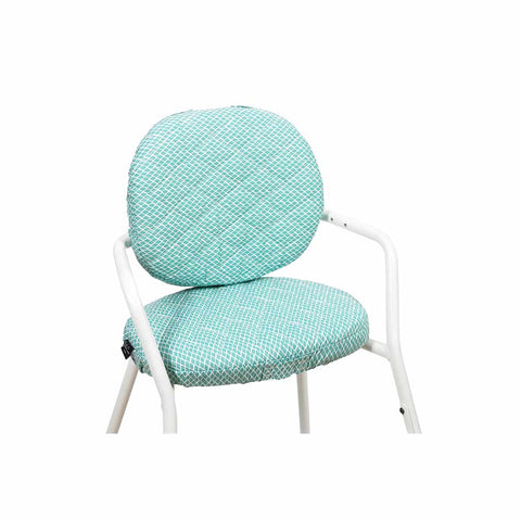 Charlie Crane Tibu Cushion - Diamond Blue-High Chair Cushions & Pads- Natural Baby Shower