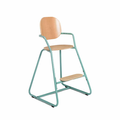 Charlie Crane Tibu Highchair - Aruba Blue-Highchairs- Natural Baby Shower