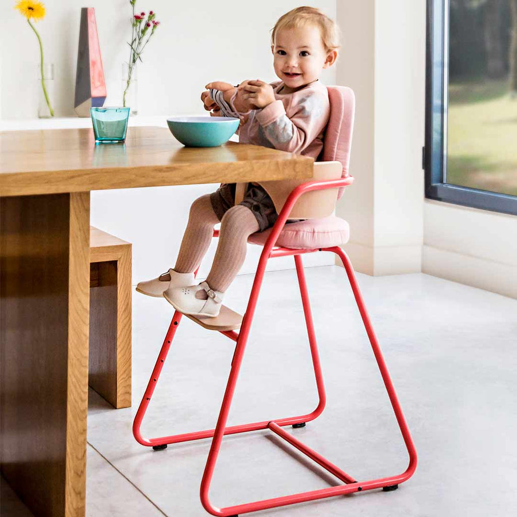 Charlie Crane Tibu High Chair - Bright Red-Baby Bouncers- Natural Baby Shower