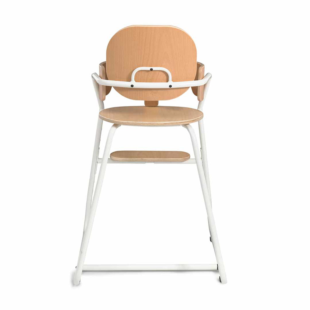 Charlie Crane Tibu High Chair - Gentle White-Baby Bouncers- Natural Baby Shower