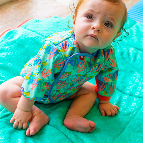 Close Baby Cosy Suit - Turtle-Swimwear- Natural Baby Shower