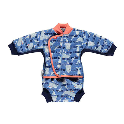 Close Baby Cosy Suit - Whale-Swimwear- Natural Baby Shower