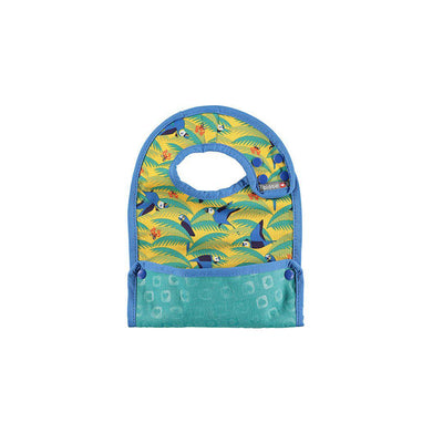 Close Bib Stage 2 - Parrot-Bibs- Natural Baby Shower