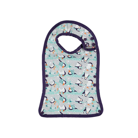 Close Bib Stage 2 - Penguin-Bibs- Natural Baby Shower