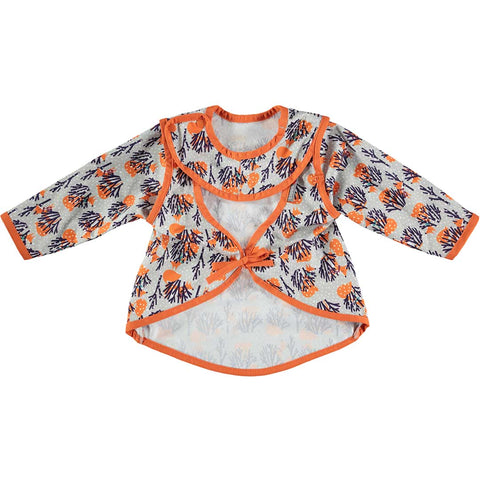 Close Bib Stage 4 - Fox-Bibs- Natural Baby Shower