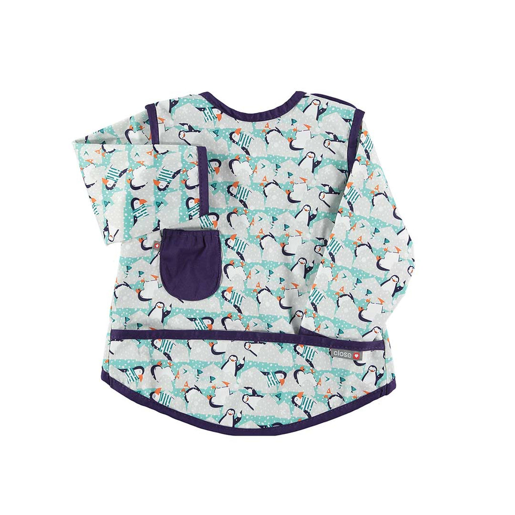 Close Bib Stage 3 - Penguin-Bibs- Natural Baby Shower