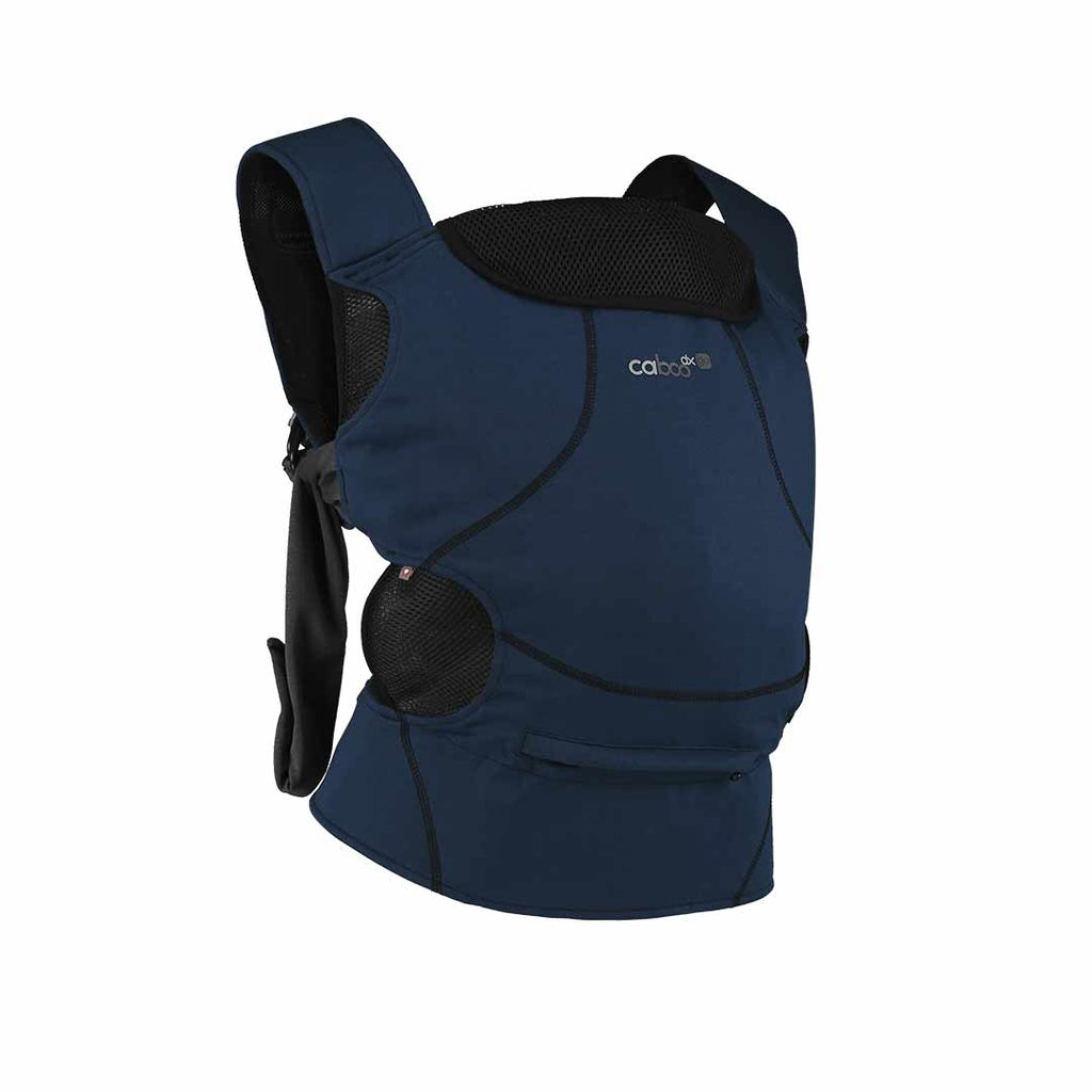 Close Caboo DXgo Baby Carrier - Ink Blue-Baby Carriers- Natural Baby Shower