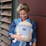Close Caboo + Cottonblend Printed Baby Carrier - Ava 5