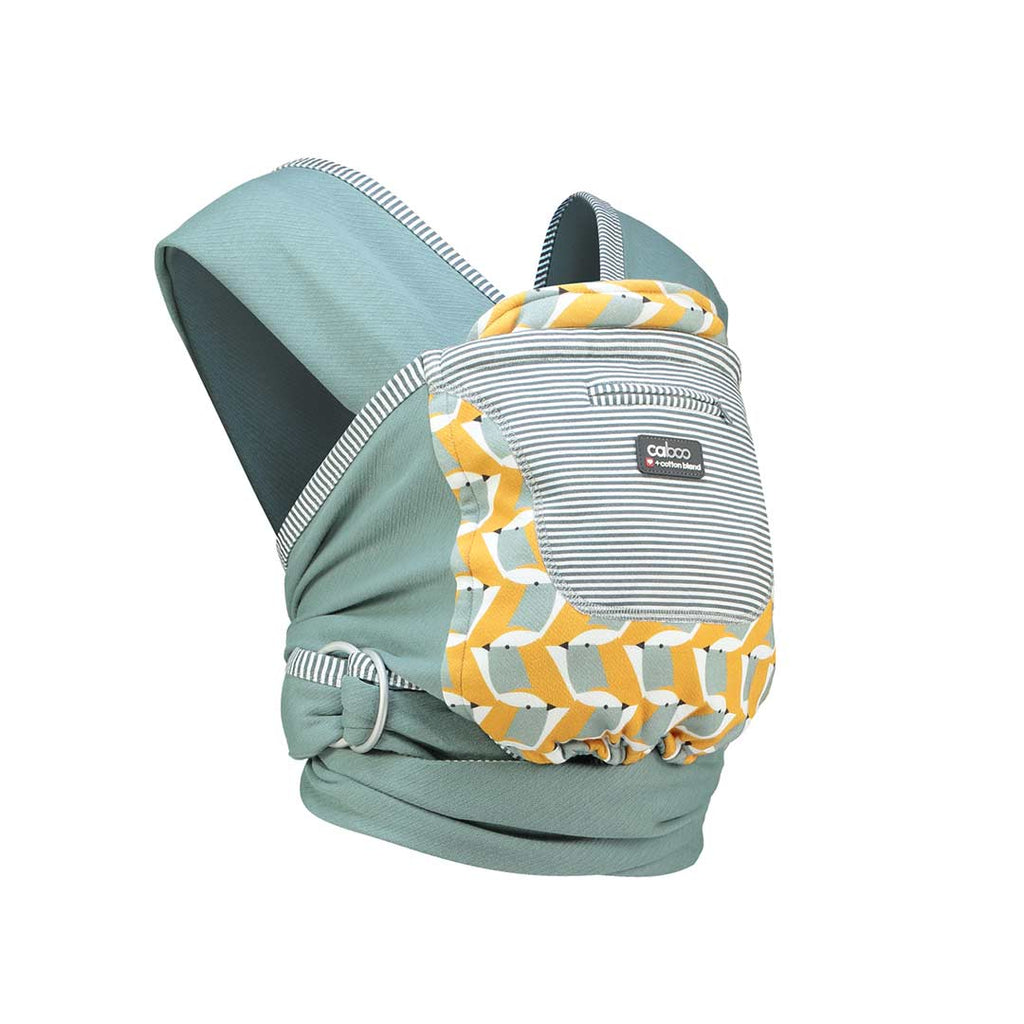 Close Caboo + Cottonblend Printed Baby Carrier - Ava 1