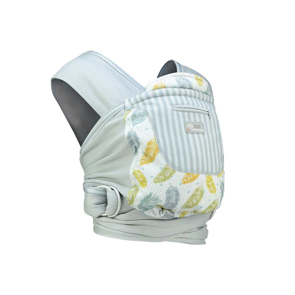 Close Caboo + Cottonblend Printed Baby Carrier - Fearne 1