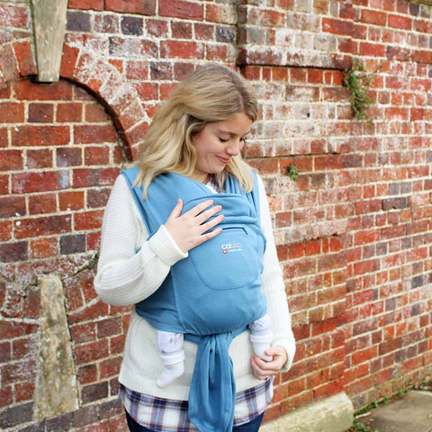 Close Caboo + Organic Baby Carrier - Porcelain-Baby Carriers-Default- Natural Baby Shower