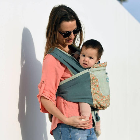 Close Caboo + Cotton Blend Carrier - Emily-Baby Carriers- Natural Baby Shower