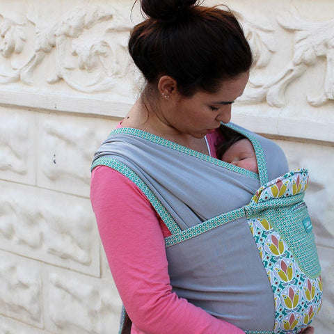 Close Caboo + Cotton Blend Carrier - Olivia-Baby Carriers- Natural Baby Shower