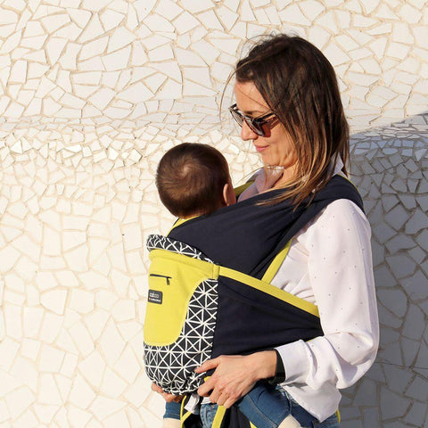 Close Caboo + Cotton Blend Carrier - Isla-Baby Carriers- Natural Baby Shower