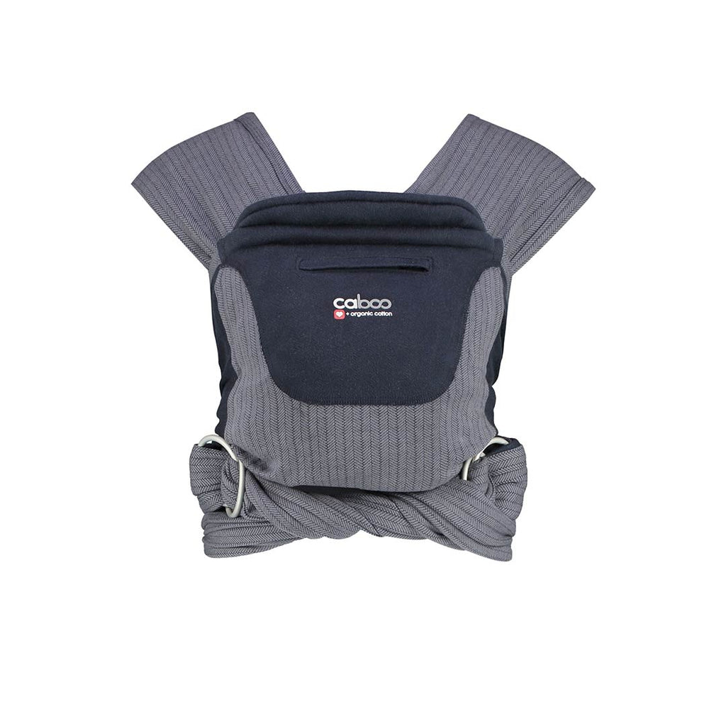 Close Caboo+ Organic Herringbone Baby Carrier - Twilight-Baby Carriers-Default- Natural Baby Shower