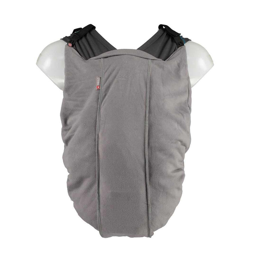 Close Cocoon Fleece Liner - Grey-Baby Carrier Covers-Default- Natural Baby Shower