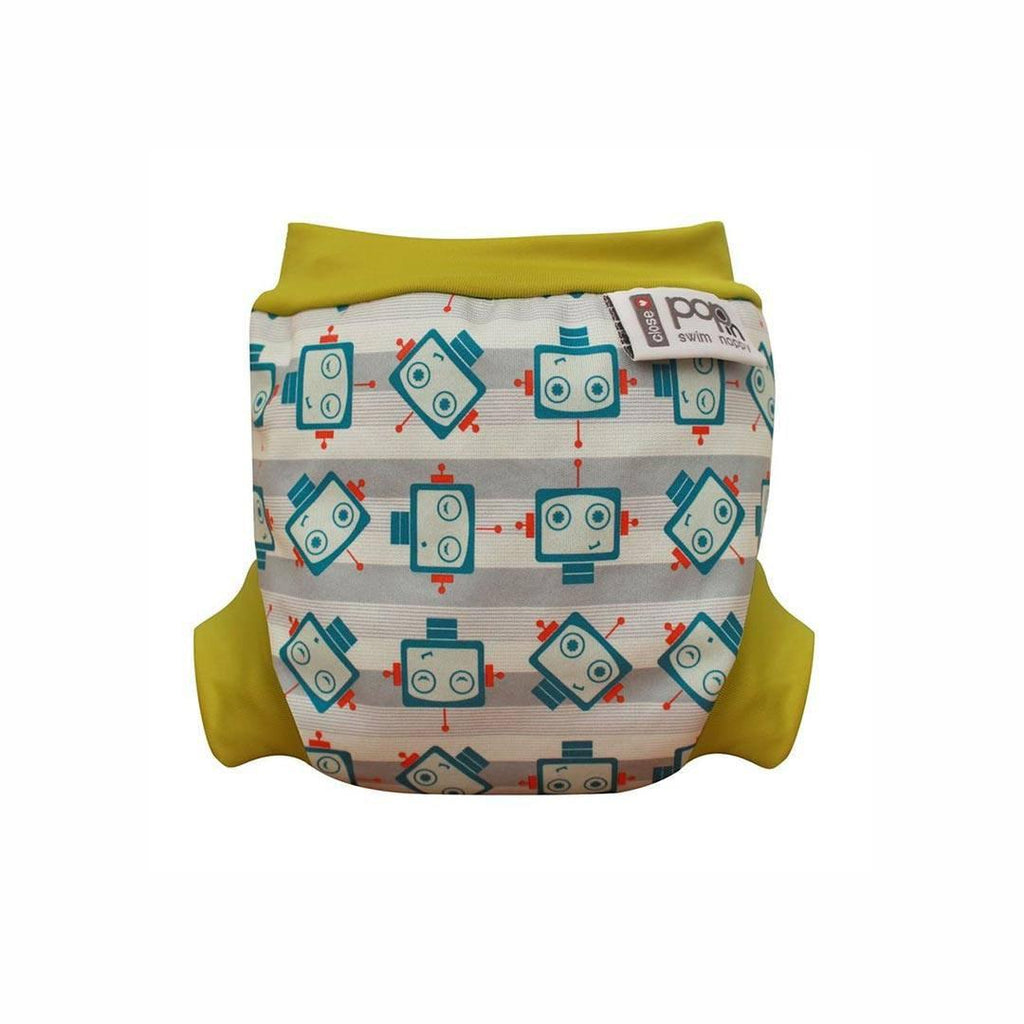 Close Pop-in Swim Nappy - Robot