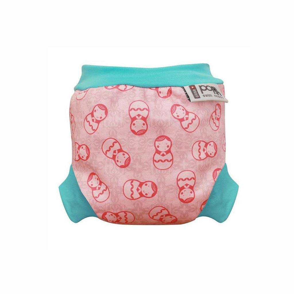 Close Pop-in Swim Nappy - Russian Doll
