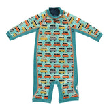 Close Pop-in Toddler Snug Suit - Campervan Green