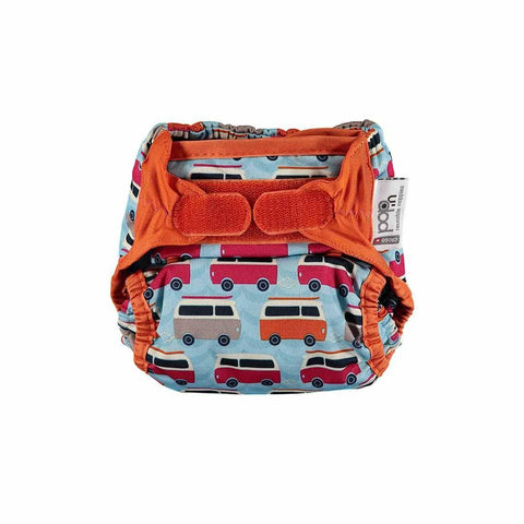 Close Pop-in V2 Bamboo Nappy - Campervan Blue