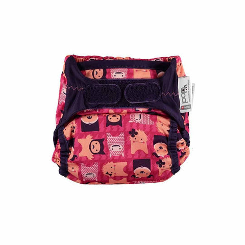 Close Pop-in V2 Bamboo Nappy - Edie Monster