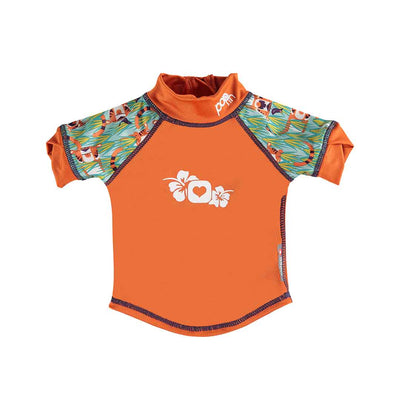 Close Rash Vest - Tiger-Swimwear- Natural Baby Shower