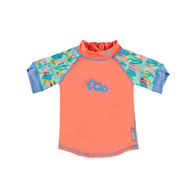 Close Rash Vest - Turtle-Swimwear- Natural Baby Shower