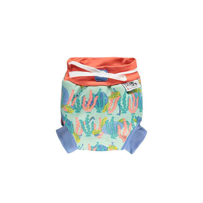 Close Swim Nappy - Turtle-Swim Nappies- Natural Baby Shower