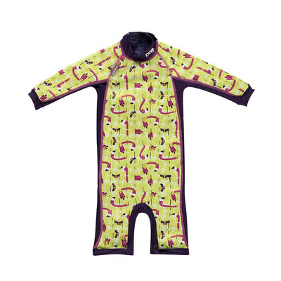 Close Toddler Snug Suit - Flamingo-Swimwear- Natural Baby Shower