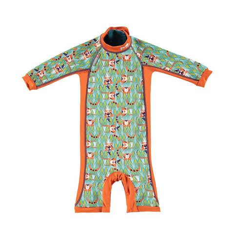 Close Toddler Snug Suit - Tiger-Swimwear- Natural Baby Shower