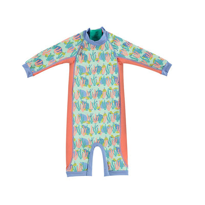 Close Toddler Snug Suit - Turtle-Swimwear- Natural Baby Shower