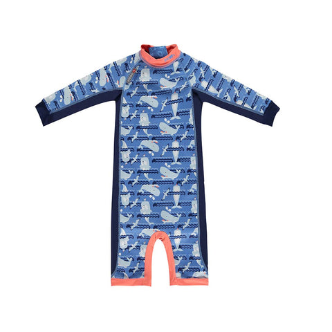 Close Toddler Snug Suit - Whale-Swimwear- Natural Baby Shower