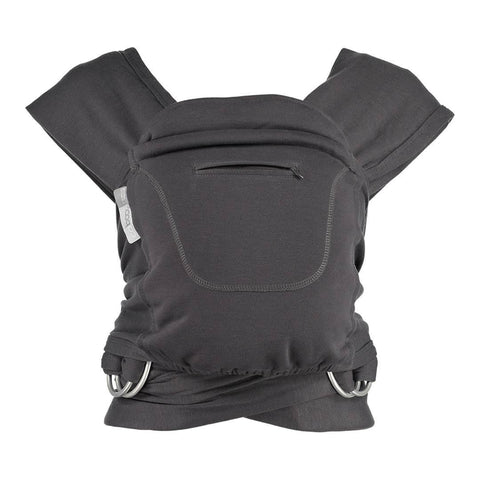 Close Caboo + Cotton Blend - Graphite - Baby Carriers - Natural Baby Shower