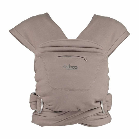 Close Caboo + Organic Blend - Driftwood Marl - Baby Carriers - Natural Baby Shower