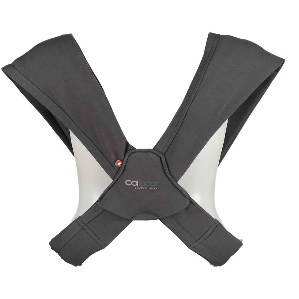 Close Caboo + Cotton Blend - Graphite-Baby Carriers- Natural Baby Shower