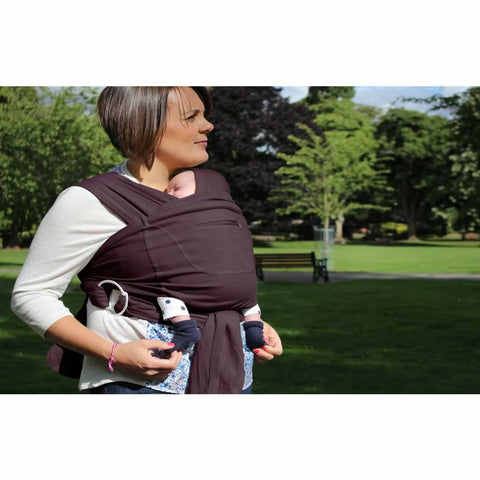 Close Caboo + Cotton Blend - Huckleberry - Baby Carriers - Natural Baby Shower