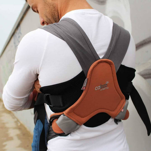 Close Caboo DX + Merino Carrier - Rust-Baby Carriers- Natural Baby Shower