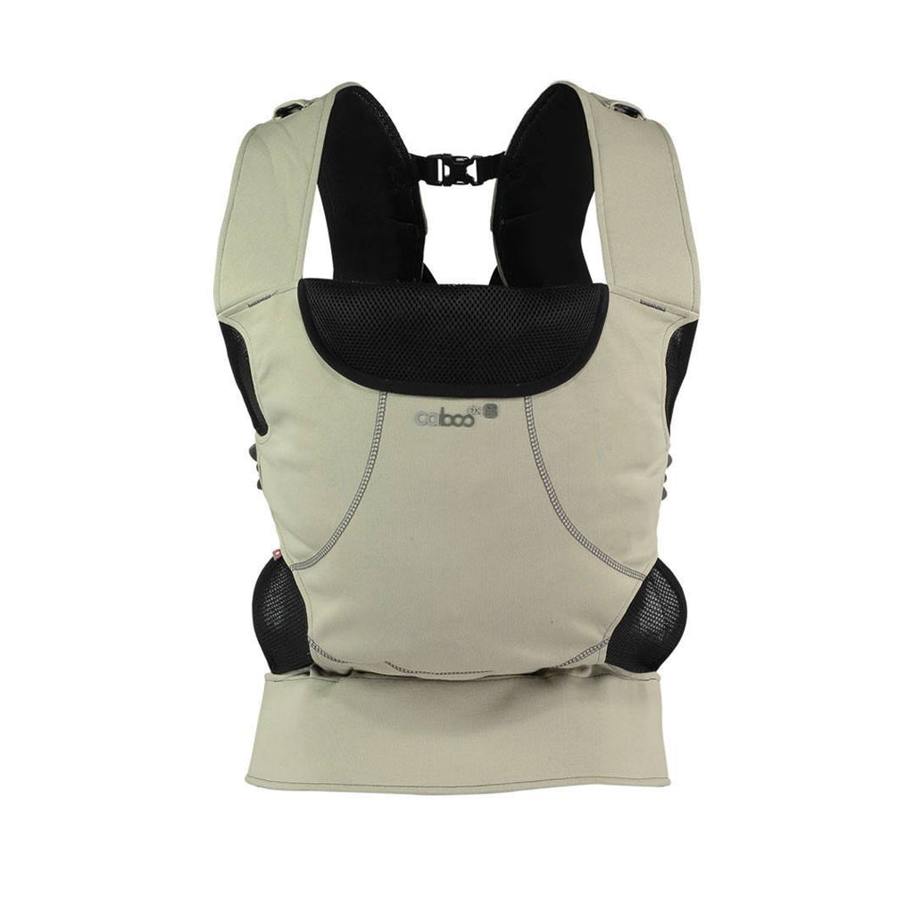 Close Caboo DXgo Baby Carrier - Khaki - Baby Carriers - Natural Baby Shower