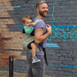 Close Caboo DXgo Baby Carrier - Khaki Lifestyle