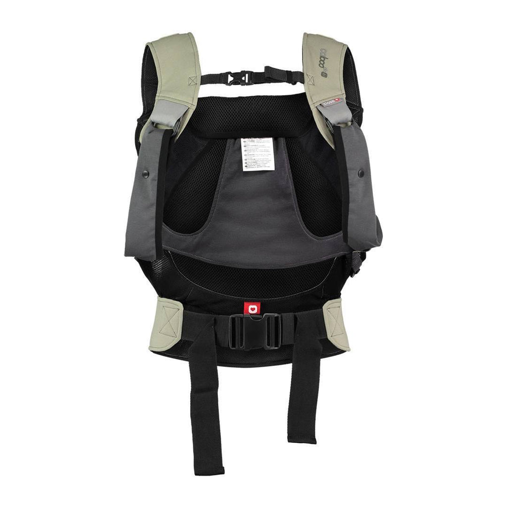 Close Caboo DXgo Baby Carrier - Khaki Back