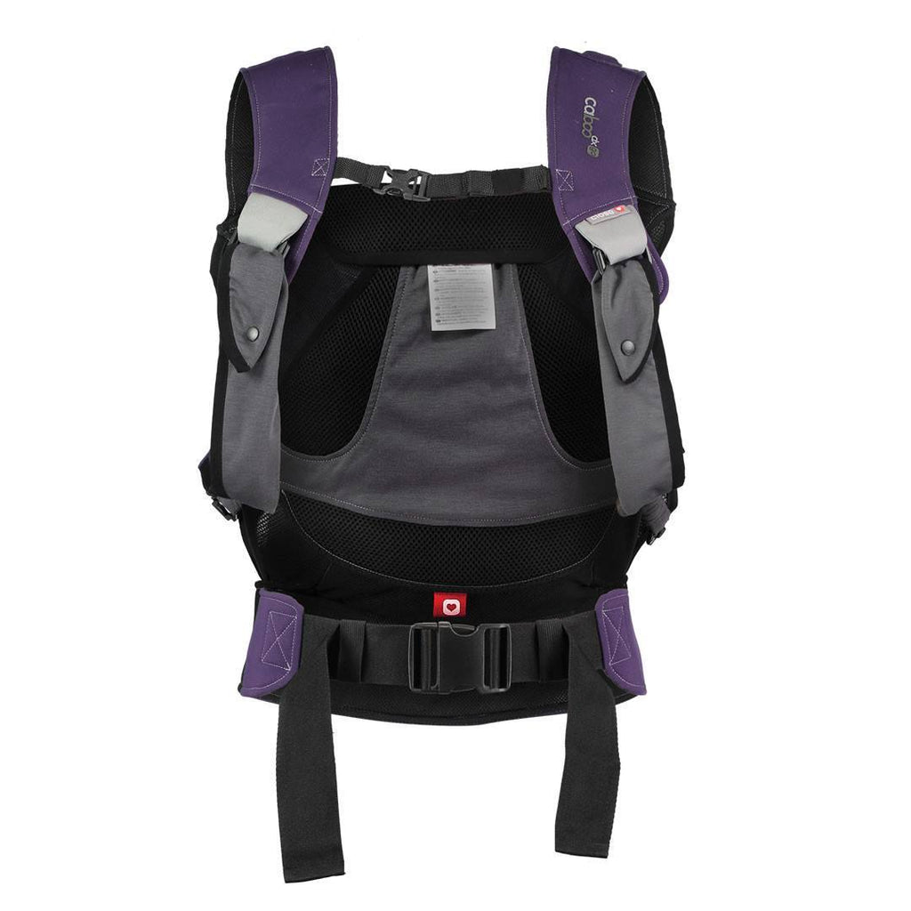 Close Caboo DXgo Baby Carrier - Plum Back