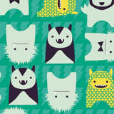 Close Pop-in Bib - Stage 4 - Monster Herman-Bibs- Natural Baby Shower