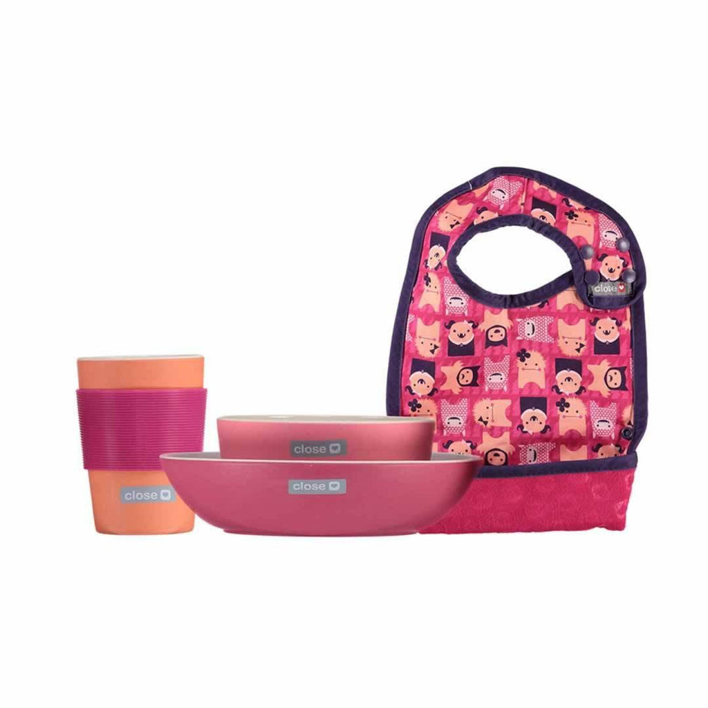 Close Pop-in Feeding Set in Edie Monster