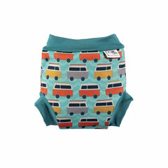 Close Pop-in Swim Nappy in Campervan Green